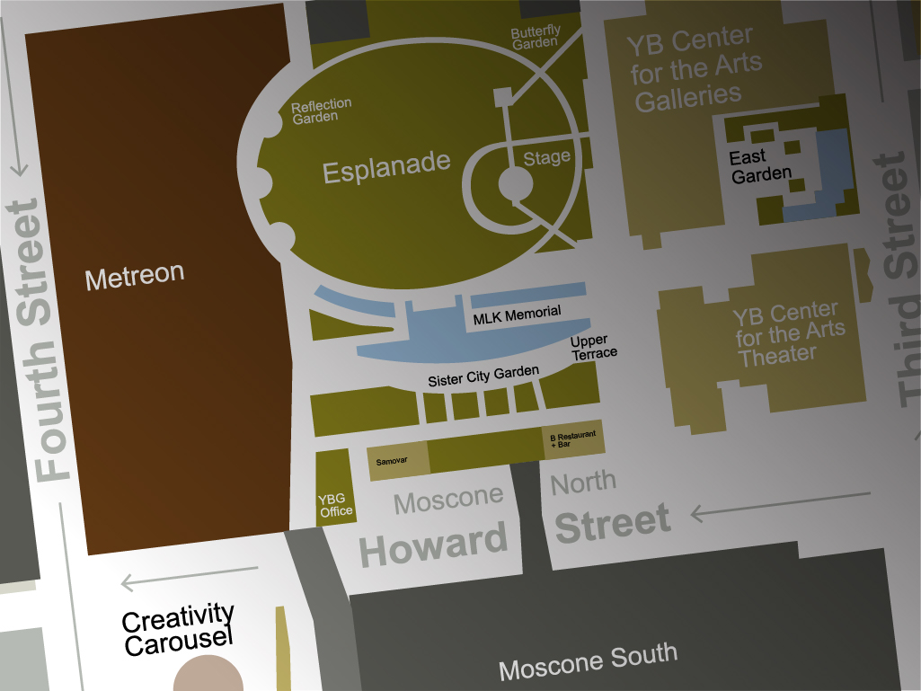 Yerba Buena Gardens | Map